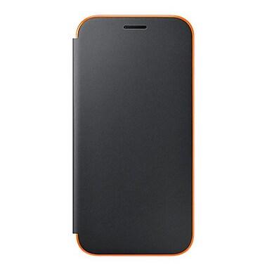 Samsung - Étui à rabat Néon pour Galaxy A5, 2017, noir