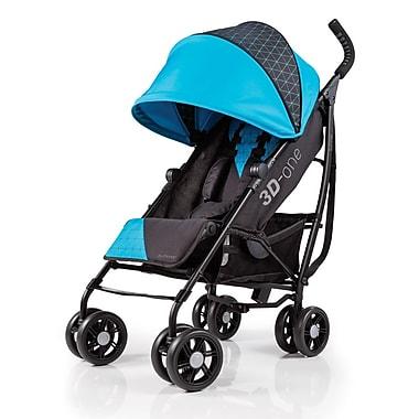 Summer Infant – Poussette pratique 3D-ONE, bleu géométrique