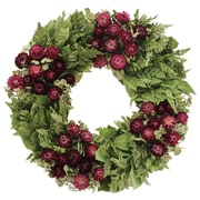 Floral Treasure Home Garden 18'' Wreath
