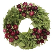 Floral Treasure Home Garden Wreath; 16'' H x 16'' W x 4'' D