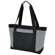 Picnic At Ascot 24 Can Houndstooth Large Insulated Tote Cooler