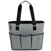 Picnic At Ascot 3 Can Houndstooth Large Insulated Multi Pocket Tote Cooler