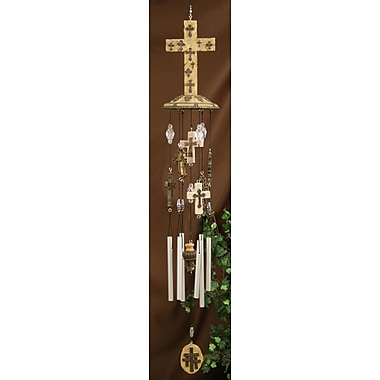 Carpentree Faith Multicross Fancy Wind Chime