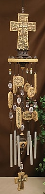 Carpentree Faith Jesus Resin Wind Chime