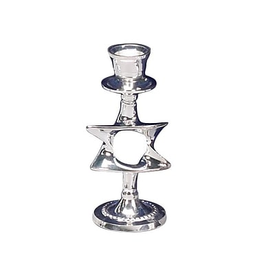 Israel Giftware Design Silver Plated Candlestick (Set
