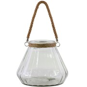 Urban Trends Glass Lantern