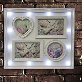 KoleImports Sectioned Shapes Picture Frame WYF078280129197