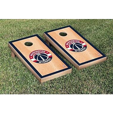 Victory Tailgate NBA Hardcourt Version Cornhole Game Set; Washington Wizards