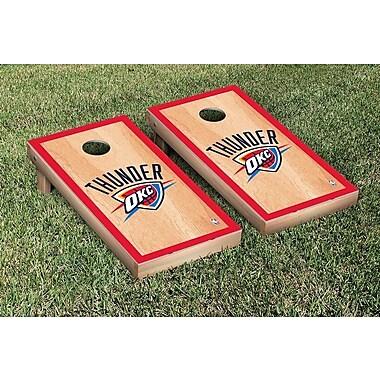 Victory Tailgate NBA Hardcourt Version Cornhole Game Set; Oklahoma City Thunder