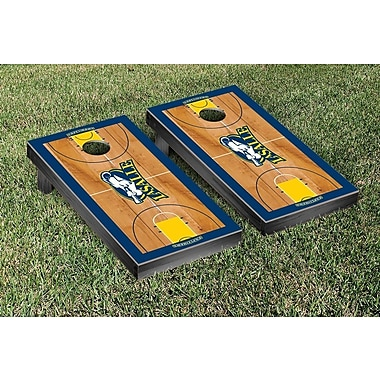 Victory Tailgate NCAA Basketball Court Cornhole Game Set; La Salle University Explorers