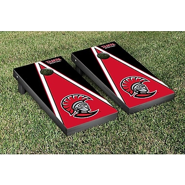 Victory Tailgate NCAA Cornhole Bag Toss Game Set; University of Tampa Spartans