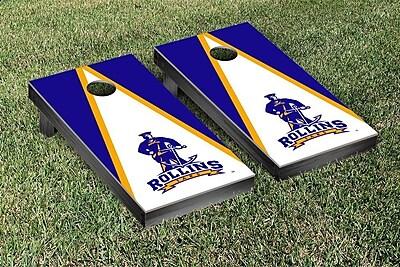 Victory Tailgate NCAA Cornhole Bag Toss Game Set; Rollins College Tars