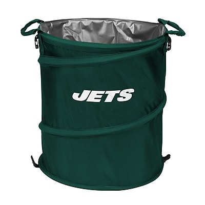 Logo Brands NFL Collapsible 13 Waste Basket;