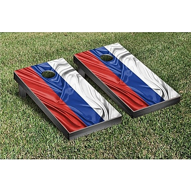 Victory Tailgate Country Rippled Flag Cornhole Game Set; Russia