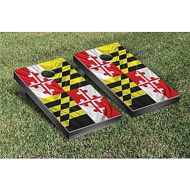 Victory Tailgate State Flag Cornhole Game Set; Maryland