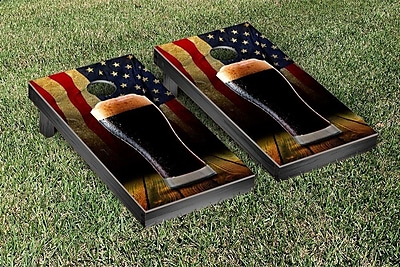Victory Tailgate American Beer Themed Cornhole Game Set