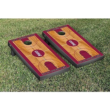 Victory Tailgate NCAA Basketball Version Cornhole Bean Bag Toss Game; New Mexico State Aggies