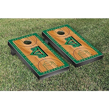 Victory Tailgate NCAA Basketball Wooden Cornhole Game Set; Delta State University Statesmen