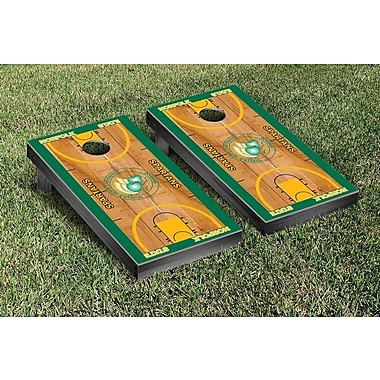 Victory Tailgate NCAA Basketball Wooden Cornhole Game Set; Norfolk State University Spartans