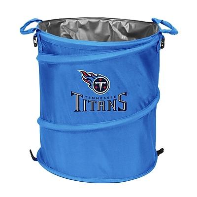 Logo Brands NFL Collapsible 13 Waste Basket;