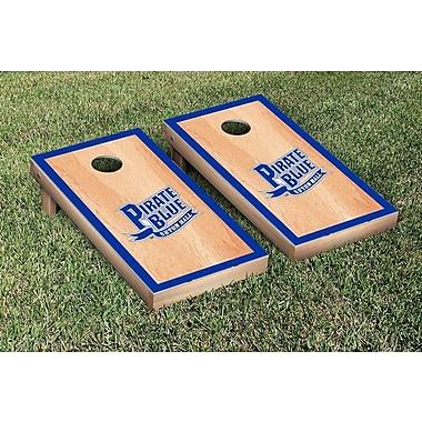 Victory Tailgate NCAA Hardcourt Wooden Script Cornhole Game Set; Seton Hall University Pirates