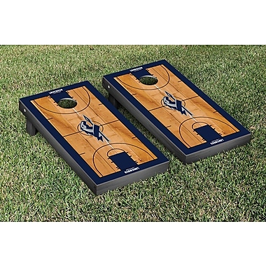 Victory Tailgate NCAA Basketball Version Cornhole Bean Bag Toss Game; Longwood University Lancers