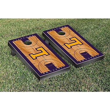 Victory Tailgate NCAA Basketball Version Cornhole Bean Bag Toss Game; Lipscomb University Bisons