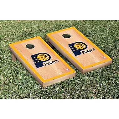 Victory Tailgate NBA Hardcourt Version Cornhole Game Set; Indiana Pacers