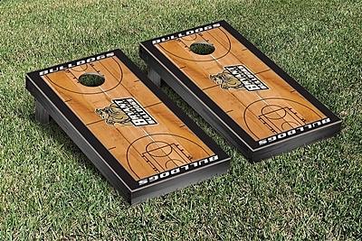 Victory Tailgate NCAA Basketball Wooden Cornhole Game Set; Bryant University Bulldogs
