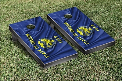 Victory Tailgate State Flag Cornhole Game Set; Oregon