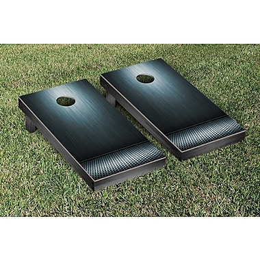 Victory Tailgate Metal Grate Themed Cornhole Game Set