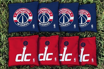 Victory Tailgate NBA Replacement All Weather Cornhole Bag Set; Washington DC Wizards