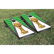 Victory Tailgate Trophy Soccer Cornhole Game Set