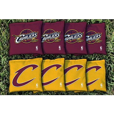 Victory Tailgate NBA Replacement All Weather Cornhole Bag Set; Cleveland Cavs Cavaliers