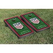 Victory Tailgate MLS Soccer Field Version 2 Cornhole Game Set; United States Soccer Federation