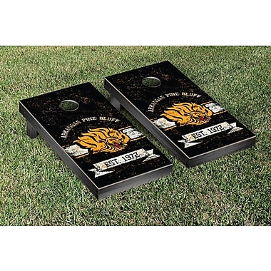 Victory Tailgate NCAA Banner Version Cornhole Game Set; Tuskegee Tigers