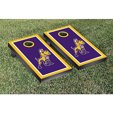 Victory Tailgate NCAA Cornhole Game Set; University of Pittsburgh Panthers