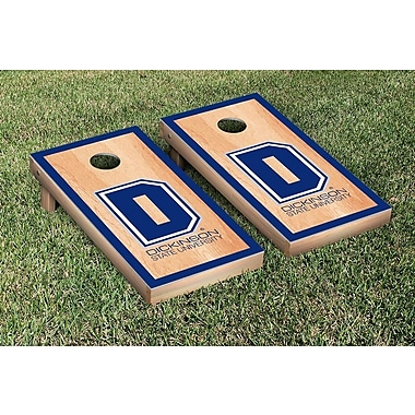 Victory Tailgate NAIA Hardcourt Version Cornhole Game Set; Dickinson State University Blue Hawks