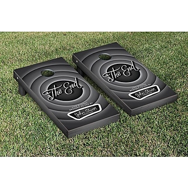 Victory Tailgate The End Divorce Themed Cornhole Game Set