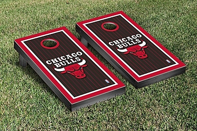 Victory Tailgate NBA Border Version Cornhole 10 Piece Game Set; Chicago Chi Bulls WYF078277119644