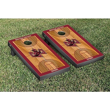 Victory Tailgate NCAA Basketball Court Cornhole Game Set; Boston College Eagles