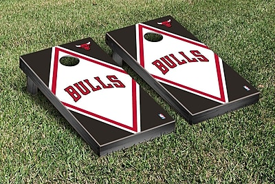 Victory Tailgate NBA Diamond Version Cornhole Game Set; Chicago Chi Bulls WYF078277125892