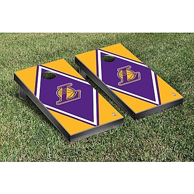 Victory Tailgate NBA Diamond Version Cornhole Game Set; Los Angeles Lakers