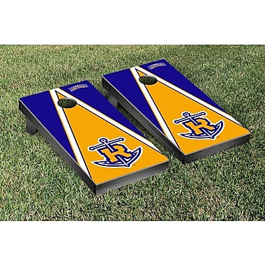 Victory Tailgate NCAA Triangle Wooden Version 2 Cornhole Game Set; Rollins College Tars