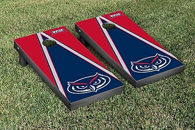 Victory Tailgate NCAA Triangle Wooden Version 2 Cornhole Game Set; Florida Atlant University