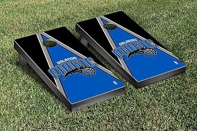 Victory Tailgate NBA Triangle Version Cornhole Game Set; Orlando Magic