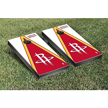 Victory Tailgate NBA Triangle Version Cornhole Game Set; Houston Rockets