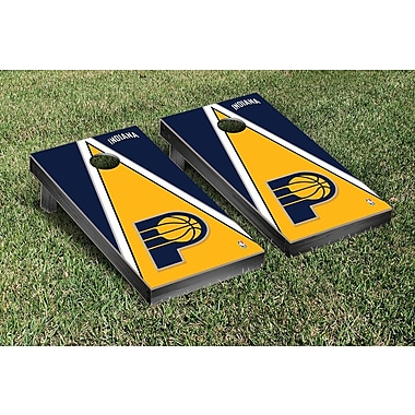 Victory Tailgate NBA Triangle Version Cornhole Game Set; Indiana Pacers