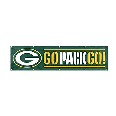 The Party Animal NFL Giant Banner; Green Bay Packers