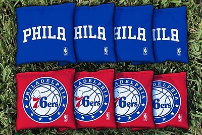 Victory Tailgate NBA Replacement All Weather Cornhole Bag Set; Philidelphia Sixers 76ers